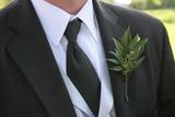 tux black tie shirt groom greens vest formal wear poster