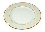 ivory empty plate poster