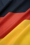 close up of portrait german national flag poster