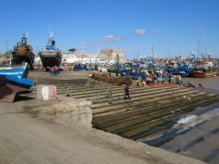 maroc : port d'essaouira