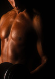 biceps curl poster