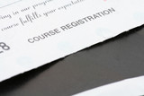 course registration receipt poster