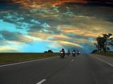 Fototapeta wolność - autostrada - Motorower / Skuter