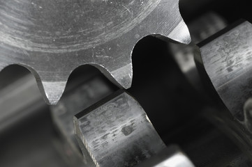 gears at close-up