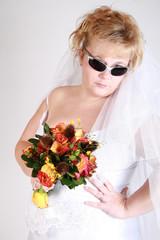 fashion sassy bride