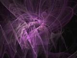 misty violet fantasy poster