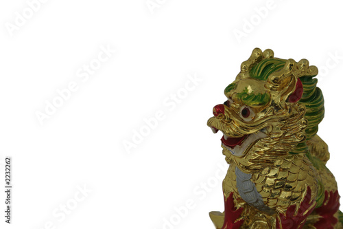 chinese dragon, resin cast - symbol for year of th