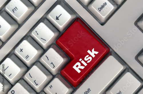 keyboard with -risk- button