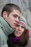 loving couple poster