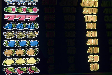 set of jackpot's wins