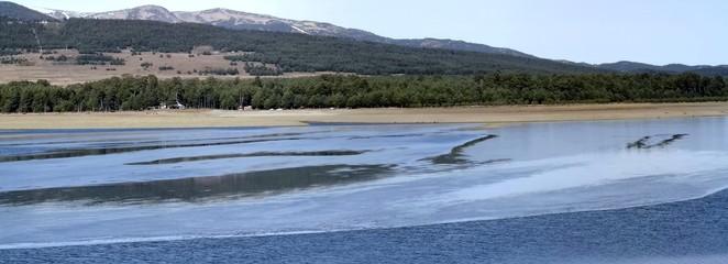 lac de matemale gelé