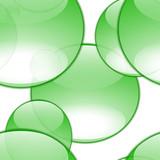 aqua bubbles poster