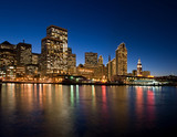 san francisco waterfront - night - Fine Art prints