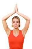 yoga trainer poster
