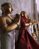 prayer statues poster