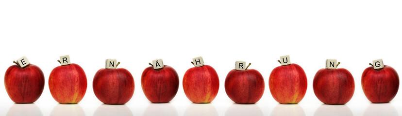 ernährung - apfel
