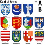 coat of arms ( ab ) poster