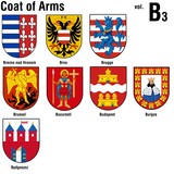 coat of arms ( b3 ) poster