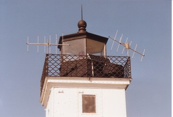 north pier light - top view