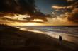 a romantic night at the beach