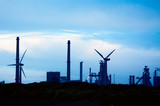 industry and windmills poster