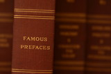 famous prefaces poster