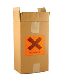 cardboard box with harmful content #2 poster