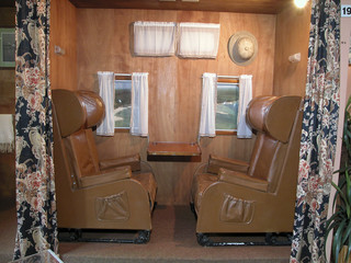 cabine de passagers d' hydravion