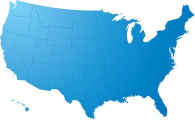 us map plain