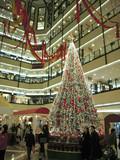 centre commercial de shanghai a noel poster