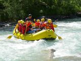 Fototapety river rafting