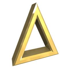 simbolo mettere in asciugatrice in oro