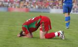 fotbalista je postižena miss bránou