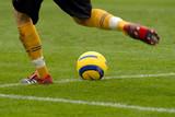 fotbalový brankář bije z koule