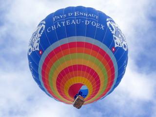 ballon château d'oex