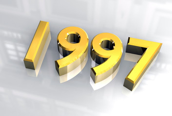 simbolo 1997 in oro