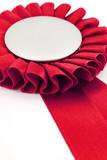 red award ribbons badge poster