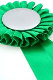 green award ribbons badge poster