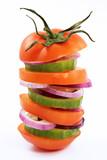 vegetarian burger poster