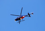 news helicopter overhead poster