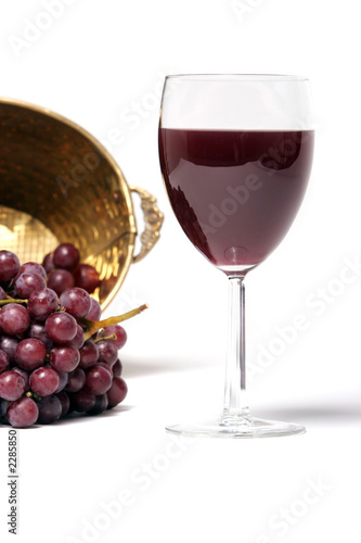 red wine in a wine glass