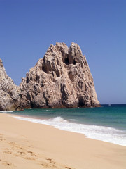 lover's beach pacific side in cabo