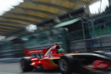 stock photo of a1 grand prix in sepang malaysia 20