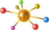 global molecule poster