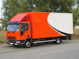 delivery truck poster