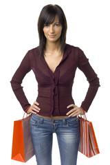 female successful customer