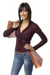 successful female buyer