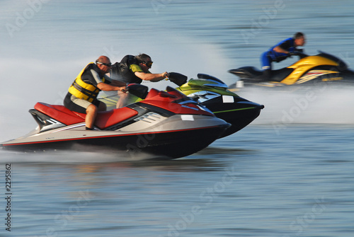 Canvas Water Motorsp. jet-ski