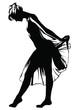 ballerina danza classica silhouette