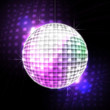 Leinwanddruck Bild - disco